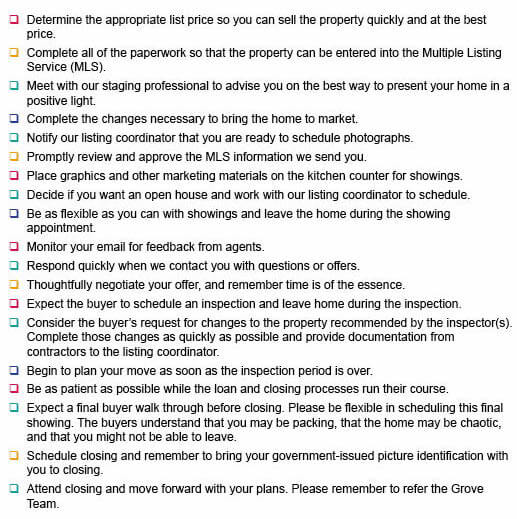 Seller's Checklist